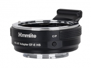 Adapter bagnetowy Commlite CM-EF-E HS - Canon EF / Sony E