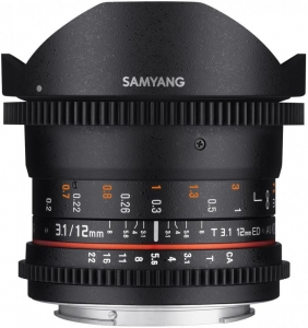 Samyang 12mm T3.1 VDSLR E-Mount