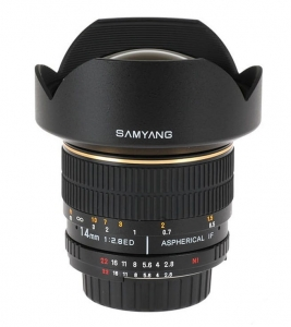 Samyang 14 mm f/2.8 ED AS IF UMC