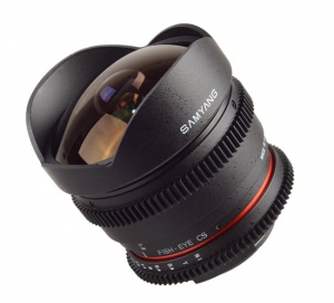Samyang 8 mm T3.8 Fish-eye CS