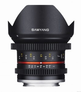 Samyang 12mm T2.2 VDSLR NCS CS E-Mount